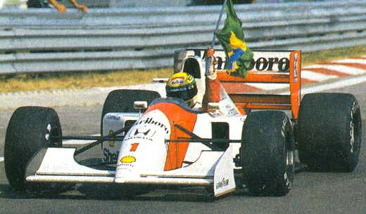what killed ayrton senna