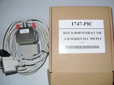 1747-PIC:AB SLC-500 series PLC programming cable