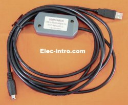 USBACAB230:USB Delta DVP series PLC programming adapter