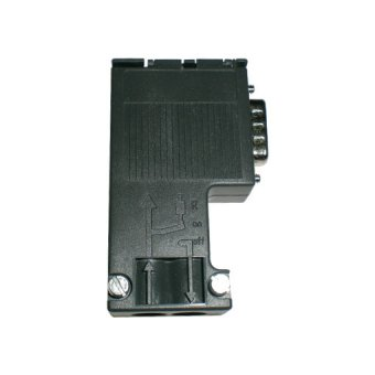 6ES7972-0BA12-0XA0,90 degree,Profibus connector without PG p