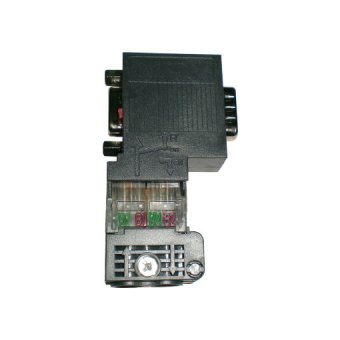 6ES7972-0BB50-0XA0,90 degree profibus connector with PG port